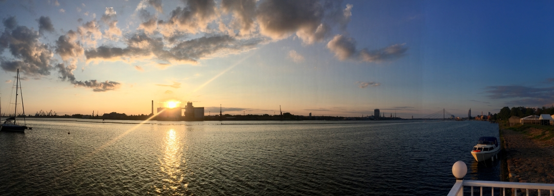 Riga Sunrise
