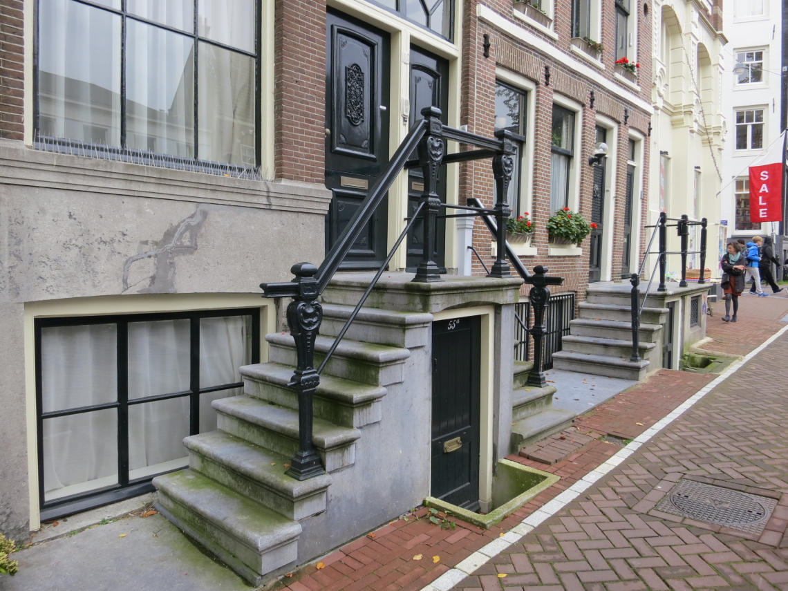 Hauseingang in Amsterdam