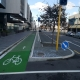 Protected bikelane Christchurch