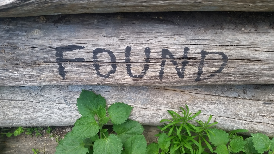 "Graffiti ""Found"""
