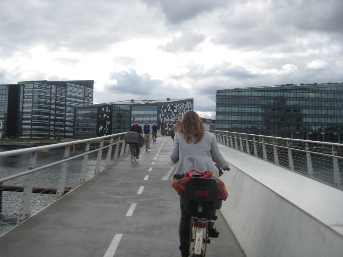 Radwegebrücke / Bridge for Cyclists (Kopenhagen(