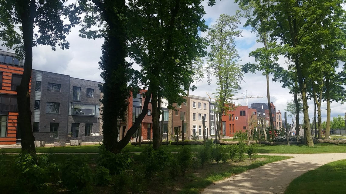 Townhouses in Enschede Boddenkamp (NL)